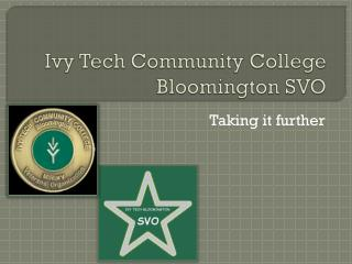 Ivy Tech Community College Bloomington SVO
