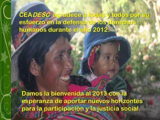 Foto: Mujeres y Derechos Humanos CEADESC