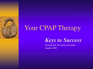 Your CPAP Therapy
