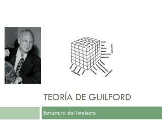 TEORÍA DE GUILFORD
