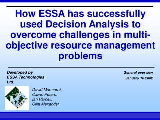 ESSA Technologies
