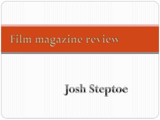 Film magazine review