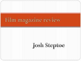 Film magazine review