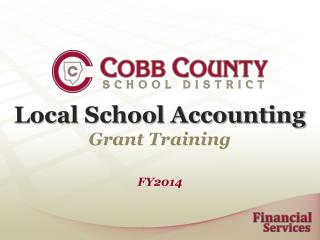 Local School Accounting Grant Training