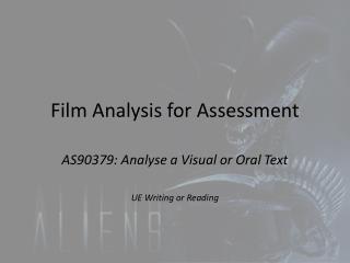 Film Analysis for Assessment