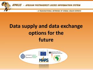 Data supply and data exchange options for the future