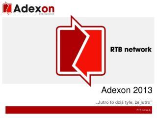 Adexon  2013