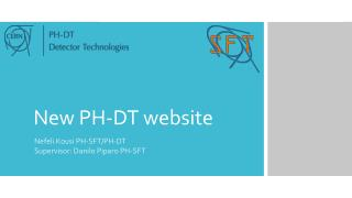 New PH-DT website