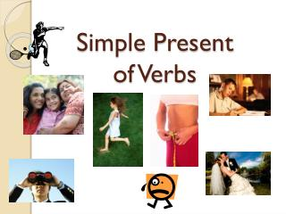 Simple Present of Verbs