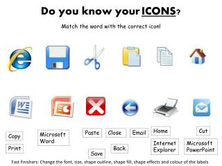Do you know your ICONS ?