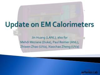 Update on EM Calorimeters