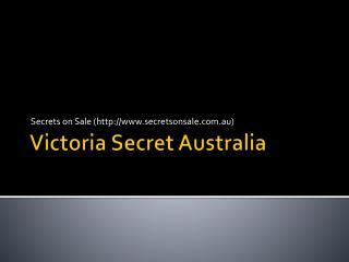 Victoria Secret AU - Secrets on Sale