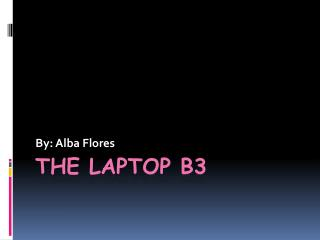 The Laptop b3