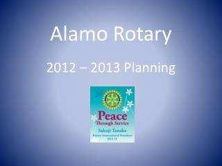 Alamo Rotary