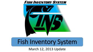 Fish  Inventory System