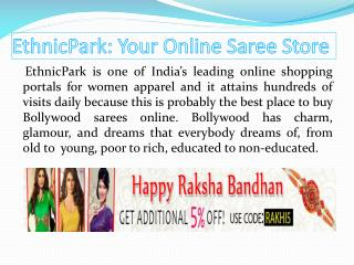 EthnicPark: Your Online Saree Store