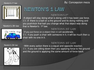 Newton's 1 law