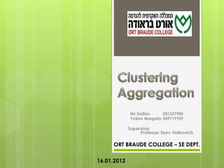 Clustering Aggregation