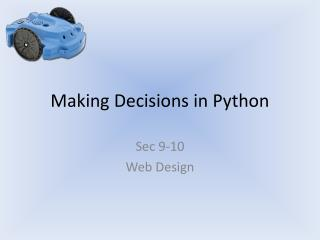 Making Decisions in Python