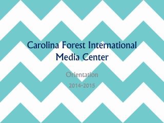 Carolina Forest International Media Center