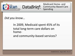 Medicaid Home- and  Community-Based Care Spending