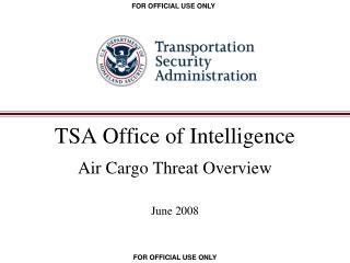 TSA Office of Intelligence
