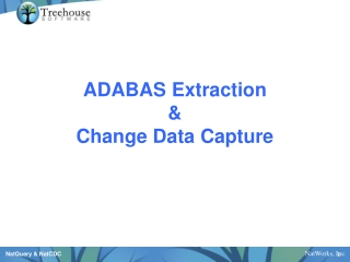 ADABAS Extraction  Change Data Capture