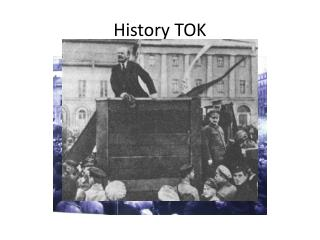 History TOK