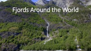 Fjords Around the World