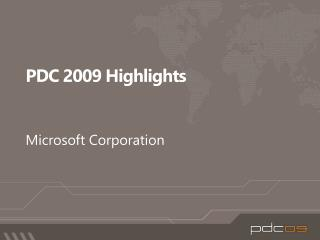 PDC 2009 Highlights