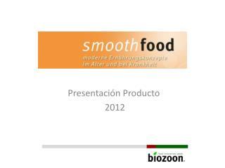 Presentación Producto  2012