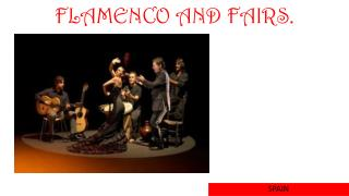 FLAMENCO AND FAIRS.