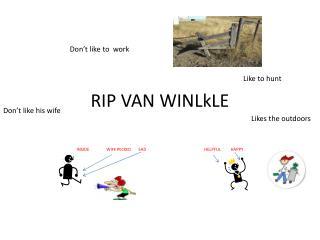 RIP VAN  WINLkLE