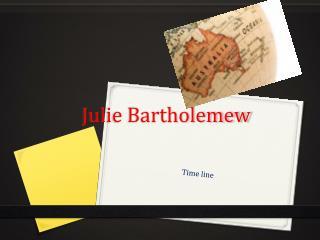 Julie Bartholemew