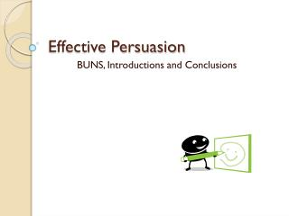 Effective Persuasion