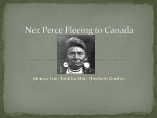 Nez Perce Fleeing to Canada