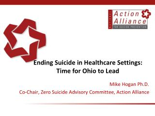 Ending Suicide in Healthcare Settings:  Time for Ohio to Lead