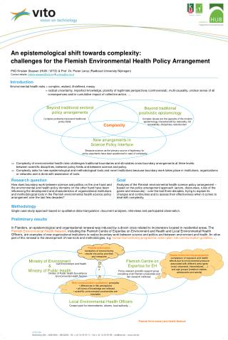 Introduction Environmental health risks = complex, wicked, ill-defined, messy