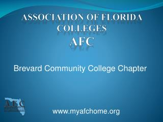 Association  of  FLORIDA   Colleges afc