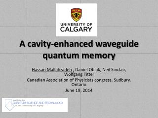 A cavity-enhanced waveguide quantum memory