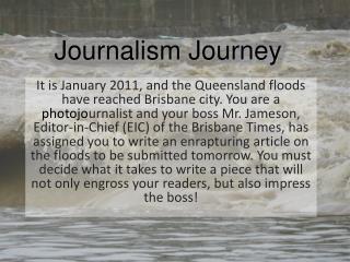 Journalism Journey