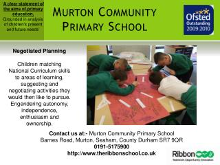 Murton Community Primary School