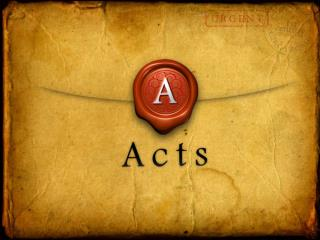 How would you describe Paul's Speech in Acts 22:1-21? What was his main point(s)?