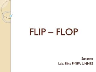FLIP – FLOP