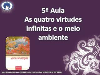 5ª Aula As quatro virtudes infinitas e o meio ambiente