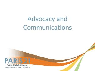 Advocacy and Communications