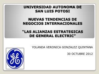 YOLANDA VERONICA GONZALEZ QUINTANA 30 OCTUBRE 2012