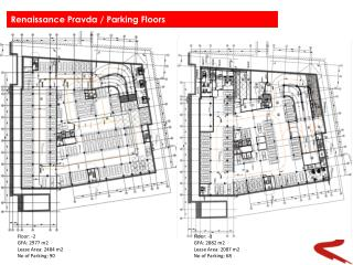 Floor: -2 GFA: 2977 m2 Lease Area: 2484 m2 No of Parking: 90