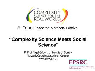""" About the Complexity Science in the Real World Network…."