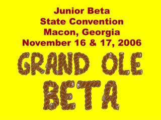 Junior Beta